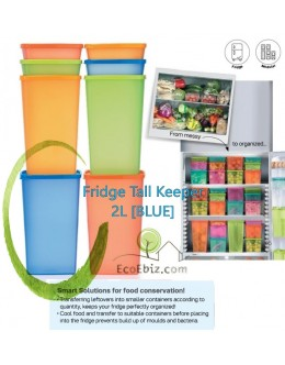 Fridge Tall Keeper 2L [BLUE]