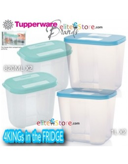 FreezerMates 4KINGs in the FRIDGE 1L/820ML [BLUE/GREEN]