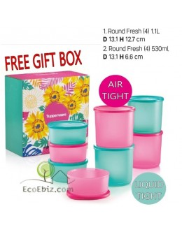 Roundy Magic GIFT BOX Set [TURQUOISE PINK]