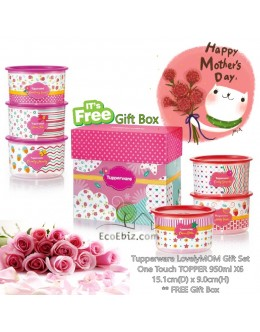 LovelyMOM One Touch TOPPER 6in1 Gift Set