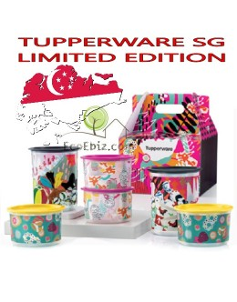 One Touch Topper Singapore Heritage Pop Art Collection 8in1 Set  *SINGAPORE LIMITED EDITION*