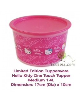Hello Kitty One Touch Topper Medium 1.4L x1