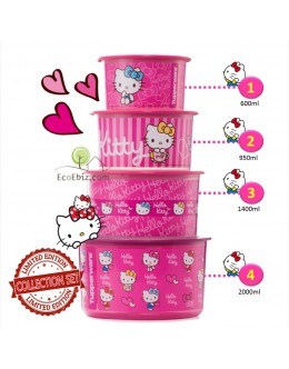 Hello Kitty One Touch Collection 4in1 Set