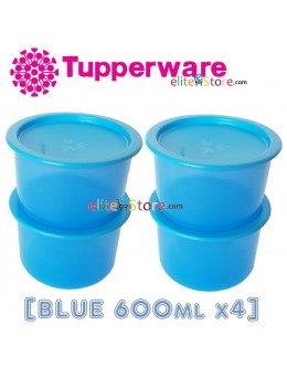 One Touch Canister / Topper Set [BLUE 600ml]