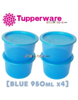 One Touch Canister / Topper Set [BLUE 950ml]