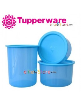 One Touch Canister / Topper Set [BLUE] [A.600ml 950ml 1.25L] [B.600ml 950ml 2L]