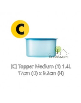 One Touch Canister / Topper Set [BLUE 600ML X3]