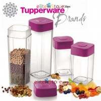 Modular Crystal Square Canister Premium 4in1 Set
