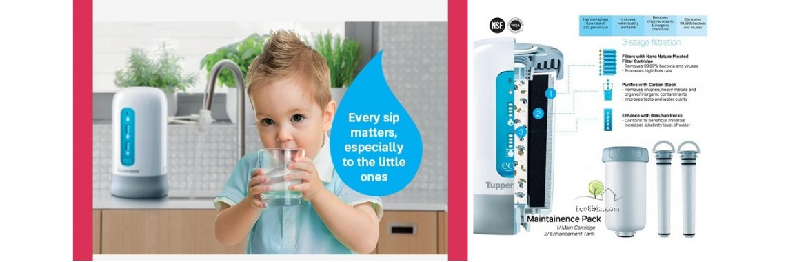 Tupperware Nano Water Filter System