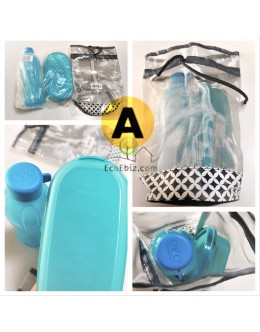 Screw Cap Bottle 500ml and OvalSlot keeper Set *FREE Pouch