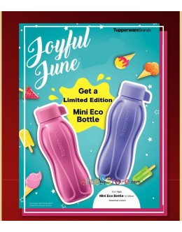 Eco Water Bottle 310ml [Screw Cap] Candy Pop Limited Edition