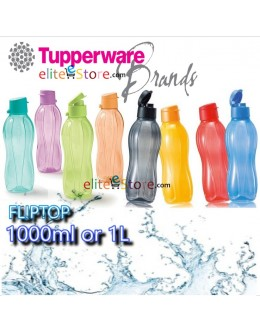 Eco Water Bottle 1L 1000ml [Flip Top]