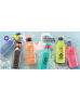 Eco Water Bottle FlipTop Square Cool 1.0L [Stay Positive]