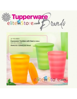 Tumbler with Seal 330ml 3in1 Set [Fruity]