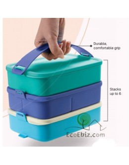 Click To Go 900ml FREE 1Belt [3 Layers: BLUE/TURQUOISE]