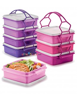 Goody Box with Cariolier 790ml 4 in 1 Set [PURPLE / PINK]