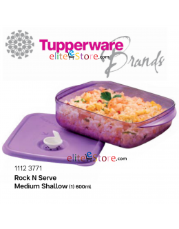 Microwaveable Lunch Box Freezer Rock N Serve 600ml [PURPLE]