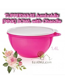 JumboMix [PINK] BOWL with Ohandle 1.4L