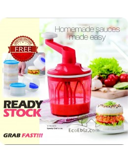 Speedy Chef 1.35L with box * FREE Magic Tower 3in1 set