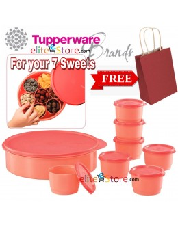 Round Keeper Gift Set [7Sweets Salmon] ** FREE KRAFT Gift bag