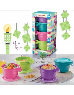 PastelPretty Bowl 650ml 4in1 Gift Set