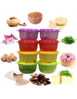 Bowls 250ml [GardenFairy] 8in1 Set
