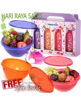 Starlight Fun Bowl 800ml and Bottle 500ml 7in1 Sets