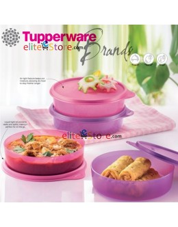 Handy Snack Bowl 4in1 Set 380ml [PinkyPurple]