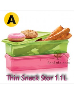 Cold Cut Thin Snack Stor 1.1L x2 [A] 2in1 Set