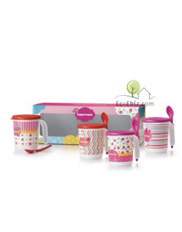 LovelyMOM Mug Set 350ml x4 FREE Gift Box