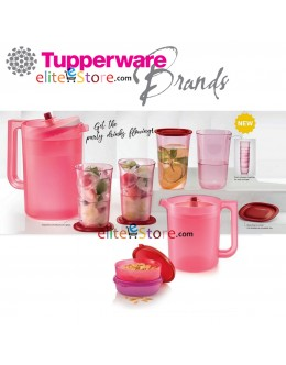 ROSES RED Serving 5in1 Set +FREE Pitcher 1.4L and Ezyround 170ml x2