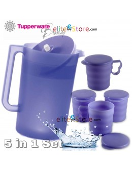Giant Pitcher 4.2L +Mugs with seals x4 [PURPLE]