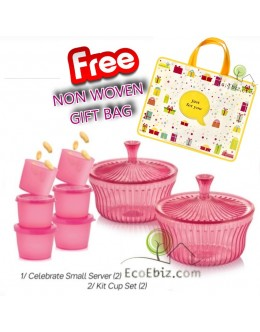 Serving Set [2Alibaba +6Kit Cup] ** FREE Gift bag