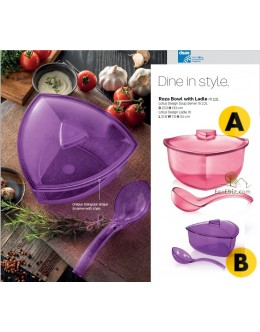 Triangle Server 2.2L FREE Ladle [PEACH/PURPLE]