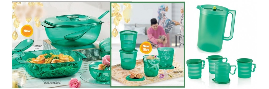 Happy Hari Raya Serving Set