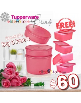 Roses RoundSquare Set (Buy 3 FREE 4)