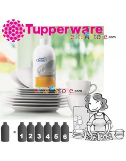 Tupperclean Dish Wash Concerntrate 800ml