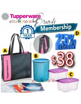 TUPPERWARE Starter Kits [1Year MEMBERSHIP]
